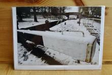 PHS Large Christmas Card: Bedford Street Locks front