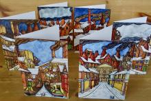 Photo - six cards with envelopes