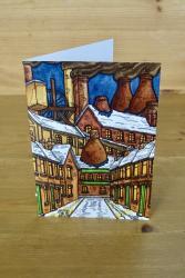 Heritage Christmas Card: Lights of Home