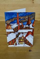 Heritage Christmas Card: Snowy Rooftops